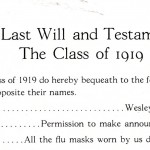 """Earl Leaf…All the flu masks worn by us during the epidemic."""